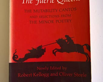 The Faerie Queene by Edmund Spenser --- Book I & II --- Vintage Classic English Literature --- Old England Fantasy Epic Poem Queen Allegory