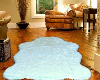 plush faux fur area rug luxury fur thick shaggy bear skin faux fur