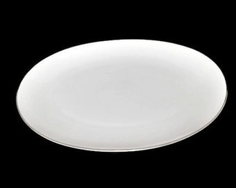 Platinum Ring Serving Platter by Style House Fine China Montgomery Ward Mid Century Dinnerware