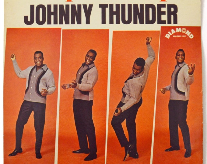 Vintage 60s Johnny Thunder Loop De Loop Mono Album Record Vinyl LP