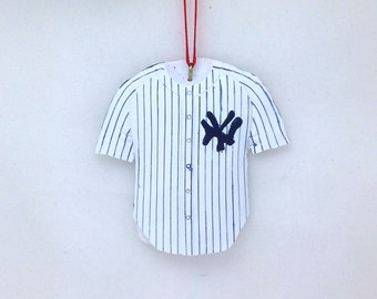 Personalized Yankees Christmas Ornament / Yankees Jersey Ornament / Baseball ornament