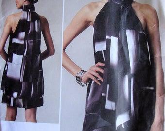 Uncut Vogue Paris Original Dress Sewing Pattern no V 1240 Guy Laroche Design 2011 Multi Size 12 14 16 18 Factory Fold