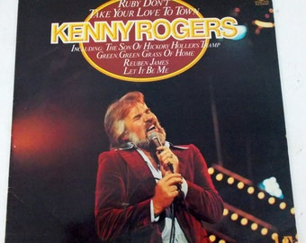 Kenny Rogers Ruby Don't Take Your Love to Town Vinyl LP Record MFP 50514