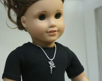 Fairy Necklace, Made to Fit American Girl Doll, 18 inch Doll Jewelry, Doll Jewelry, 18 Inch Doll Necklace