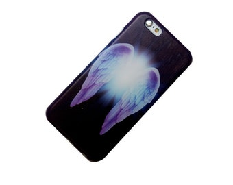 iPhone Case, Angel Wings, Full Coverage, Faith, Believe, Phone Case, iPhone 6, iphone 5, iphone SE, iphone 5c, iphone 6 Plus, iphone 7 plus
