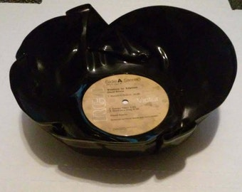 David Bowie Record Popcorn or Chip bowl Free Shipping