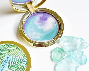 Mermaid Lagoon highlighter, mermaid highlighter, makeup, cream highlight