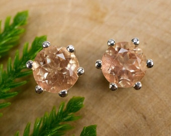 Oregon Sunstone Sterling Silver Earrings