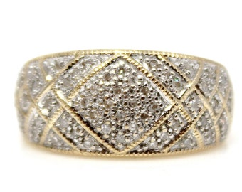 Sale! Diamond Yellow Gold Ring 14k Yellow Gold, negotiable price