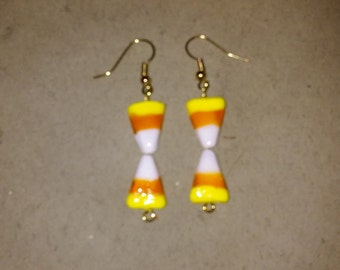 Candy Corn Earrings Style #1
