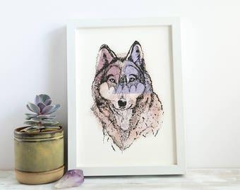 Wolf | A4 Giclée Print