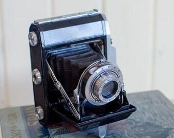 Vintage Camera vintage photography camera decor Waltax Junior Folding Bellows Camera