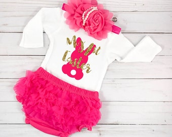 My 1st Easter Baby Easter Outfit My First Easter Baby Girls First Easter Baby Easter Dress Baby Girl Easter Outfit Pink Outfit