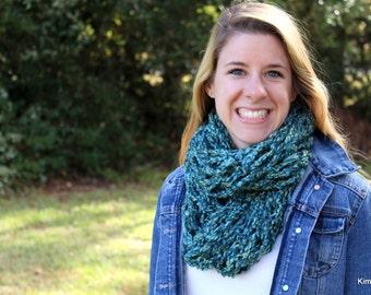 Chunky Knit Scarf - Infinity Scarf - Chunky Infinity Scarf - Knitted Scarf - Winter Scarf - Chunky Scarf - Infinity Scarf Knit