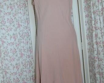 NWT Jones New York Country silk dusty pink silk dress. Classy classic.