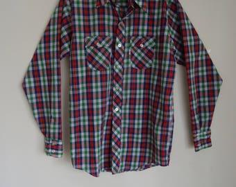 70's Shirt Levi's Western Mans Rockabilly Retro Hipster Shirt