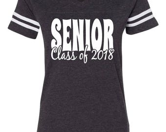 Senior Class of 2018 Tee - Choose Your Tee Color