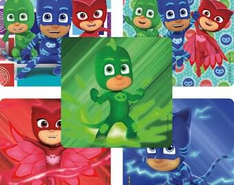 15 PJ Masks Stickers Party Favors Supplies Invitation Envelope Seals - Teacher Supply - Amaya - Connor - Greg