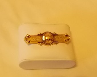 Hayward.  Gold Filled Victorian Bar Pin.  (430)