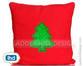 Christmas Tree Applique ~ Christmas Applique Design CHR026