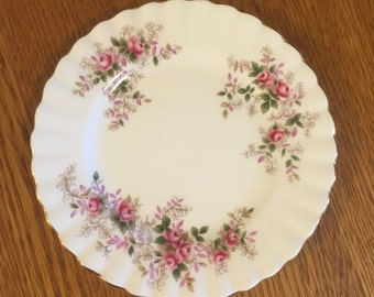 """Royal Albert Lavender Rose 6 3/8"""" Bread and Butter Plate"""