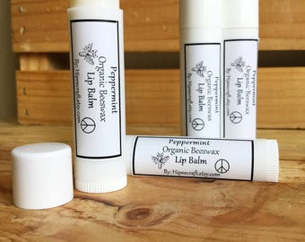 Organic Lip Balm Beeswax Lip Balm Homemade Lip Balm Natural Lip Balm