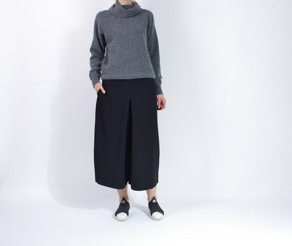 SALE - 80s Modelle Lambswool Angora Minimalist Turtleneck Sweater / Size M/L