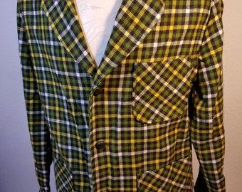 FREE  SHIPPING  Men Pendelton Wool Jacket