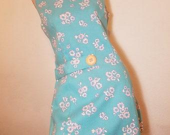 FREE  SHIPPING  Mod Linen Mini Dress