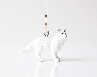 "Key chain ""Arctic fox"""