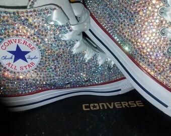 High top full bling Converse