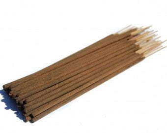 AMBER RESIN Incense Sticks  (luxury, hand rolled, organic, natural incense)