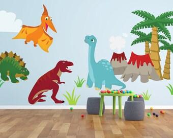 Dinosaur Sign Dinosaur Decor Boys Bedroom Decor Nursery Decor Nursery Decal