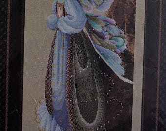 Lavender & Lace ~ Fairy Granddmother ~ Counted Cross Stitch Pattern Chart