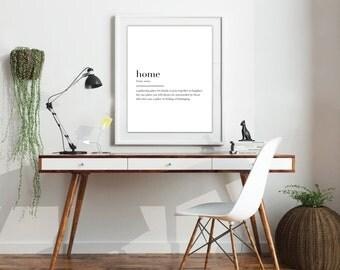Farmhouse Collect  •  HOME Print