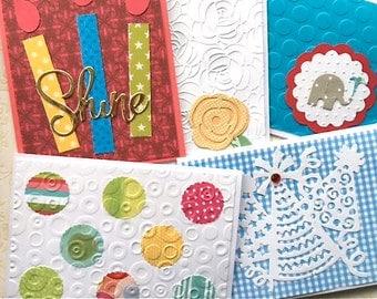 Birthday Card Set - Birthday Assortment - Birthday Cards - Handmade Cards - Card Set - Assorted Birthday  - Birthday Variety - Hostess Gift