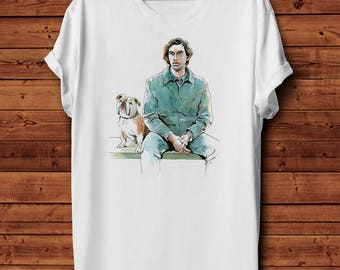 T-Shirt Tee Tshirt Camiseta Paterson Jim Jarmusch Poet Indie Movie Cinema Graphic Design Illustration Tribute Cult Hipster 100% cotton