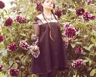 """Short gothic dress """"Maya"""""""