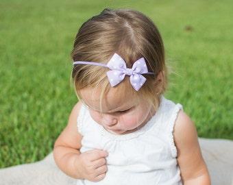 Polka Dots Pinwheel Headband, Dots Headband, Pinwheel Headband, Baby Headband, Infant Headband,