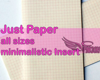 Just Paper- insert for those who don't know
