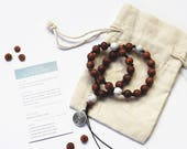 Labyrinth wearable prayer beads