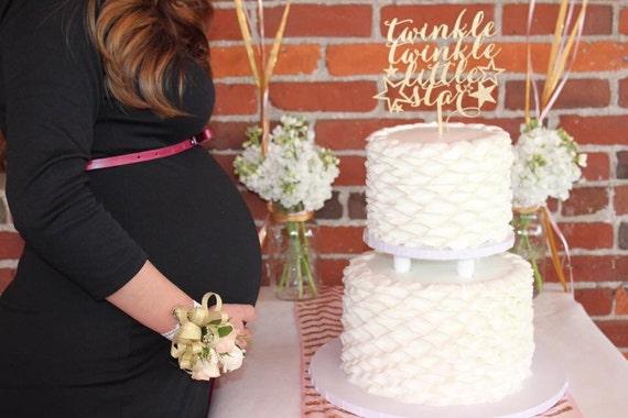 Baby Girl Cake Topper, Twinkle Little Star Cake Topper, Baby Shower Cake Topper, Gender Neutral Cake Topper, Baby Boy Cake, Little Star Cake