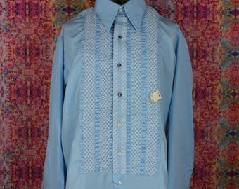 Vintage NOS Fancy Dress Shirt