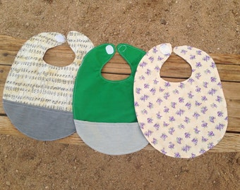 Pocket Bib / Baby Bibs / Simple and Easy Sewing Pattern