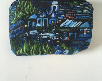 The Starry Night Coin Purse