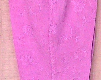 """Reworked Hand Dyed Larry Levine Linen Pants 32"""" Waist"""