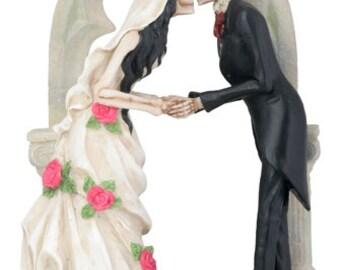 Love Never dies Wedding Couple  - Wedding Cake Topper