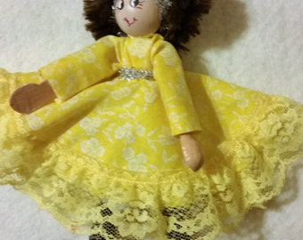 Clothespin Doll 9
