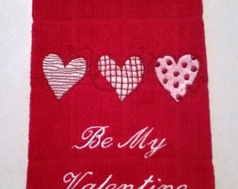 Valentine Hand Towel