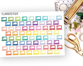 Colorful Laptop Stickers - MI 0010